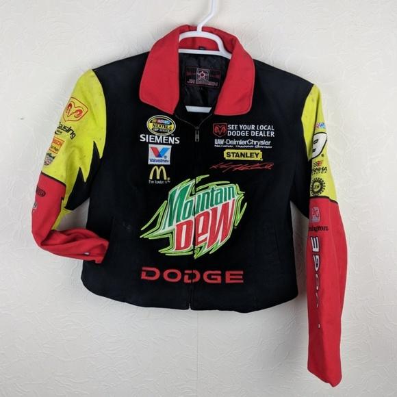 03a7e1177 JH Design Jackets & Blazers - JH DESIGN Womens Kase Kahne NASCAR Canvas  Jacket
